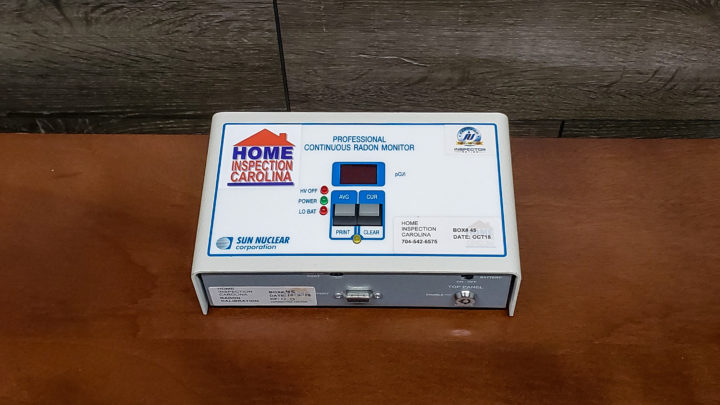 Radon Testing in Charlotte NC and South Carolina by Home Inspection Carolina - Top Home Inspectors in Charlotte, Raleigh, Asheville.