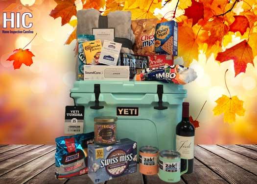 Home Inspection Carolina Yeti cooler giveaway